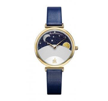 Женские Часы наручные SK, синие 5731