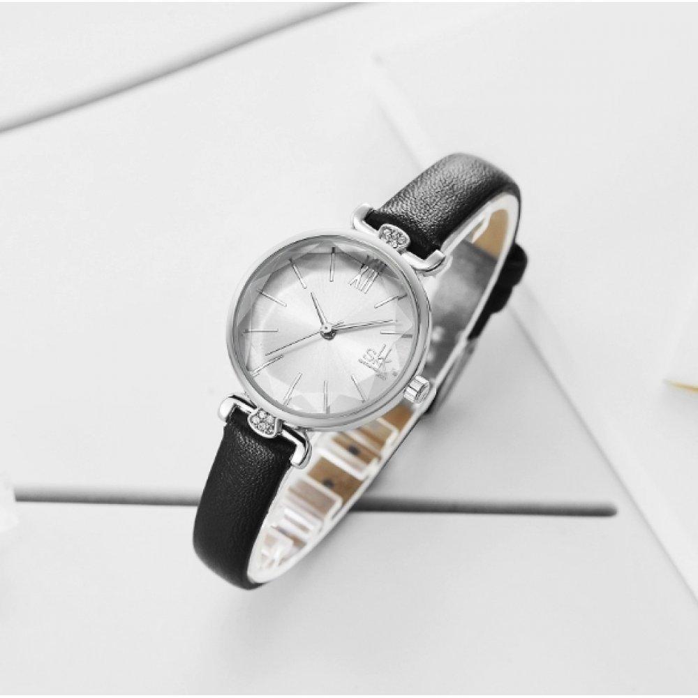 Женские Часы наручные SK, черные 5734