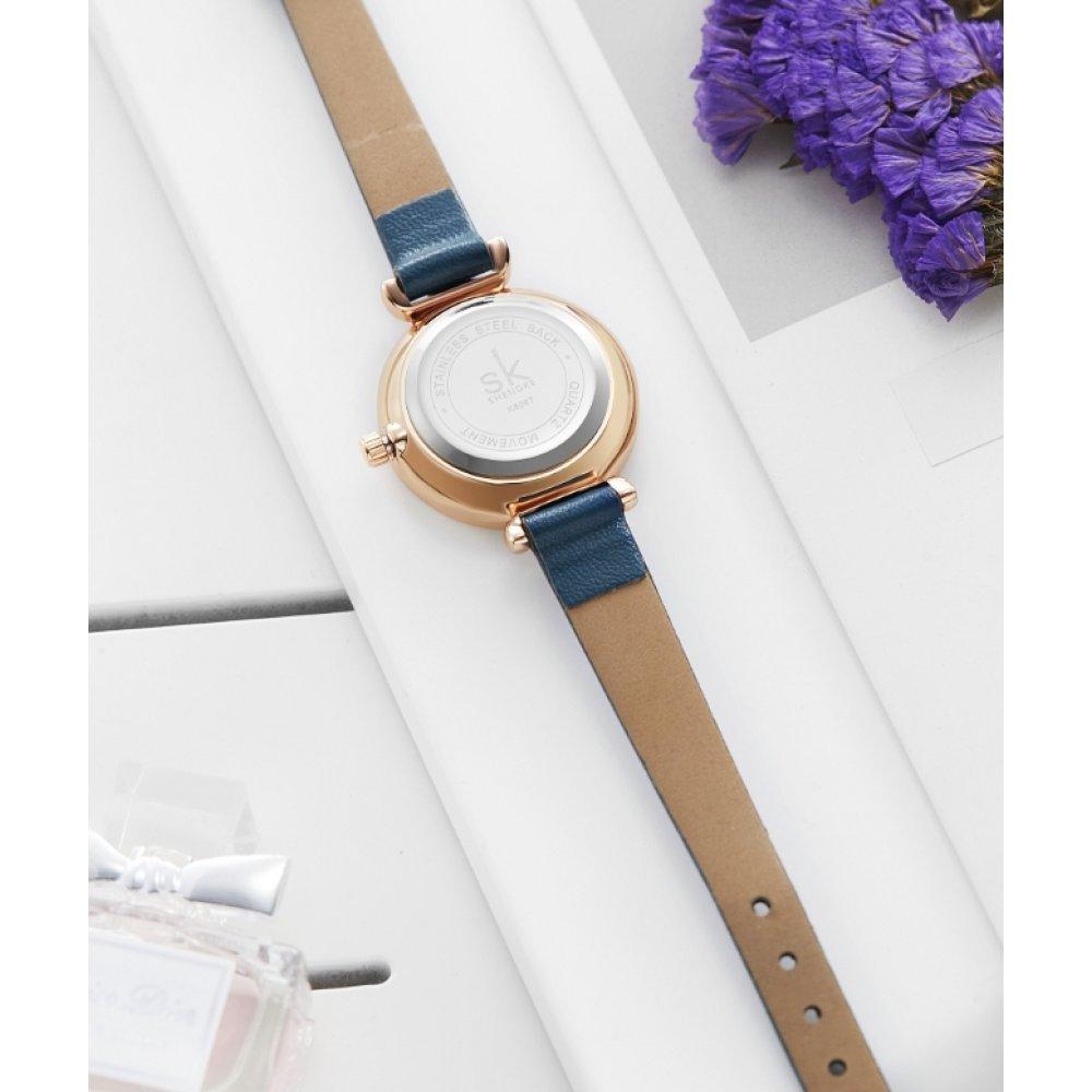 Женские Часы наручные SK, коричневые 5735