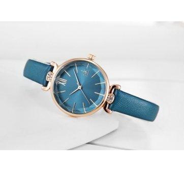 Женские Часы наручные SK, синие 5736