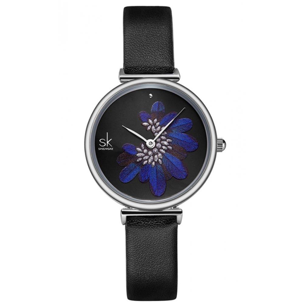 Женские Часы наручные SK, черные 5737