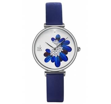 Женские Часы наручные SK, синие 5738