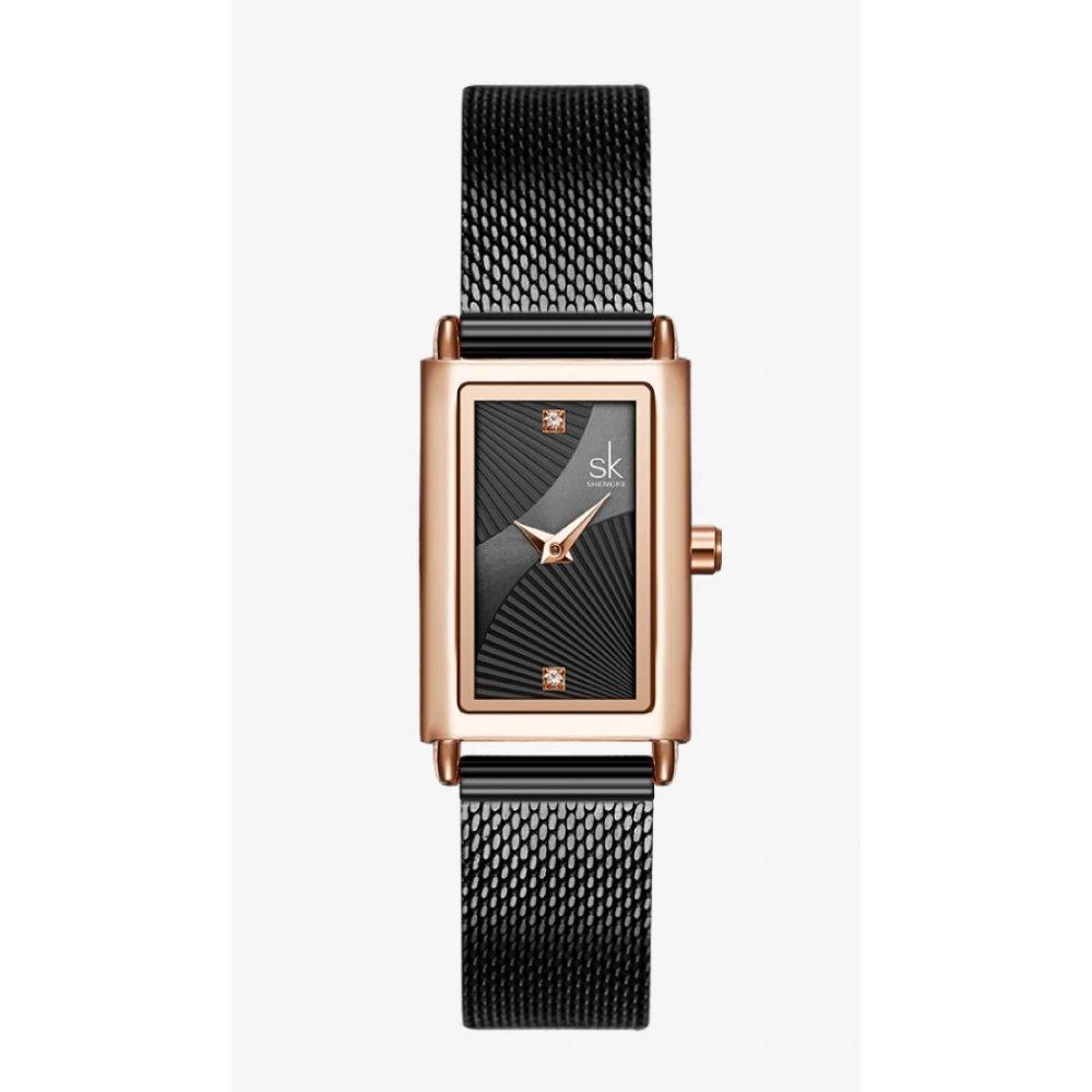 Женские Часы наручные SK, черные 5740