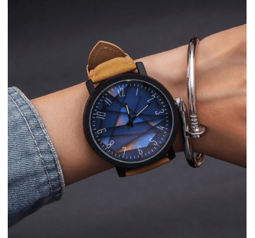 Женские Часы наручные JBRL, коричневые 5775