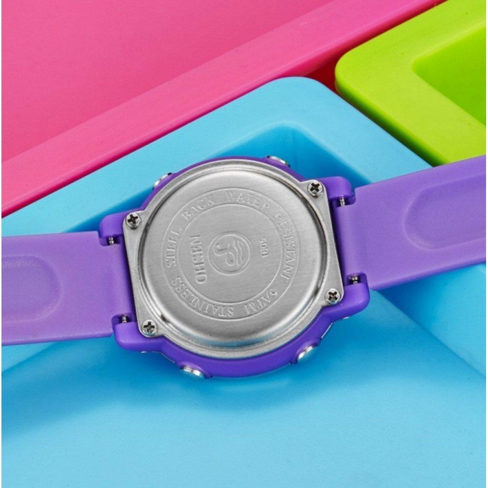 Детские Часы наручные OHSEN, голубые 5811
