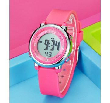 Детские Часы наручные OHSEN, розовые 5813