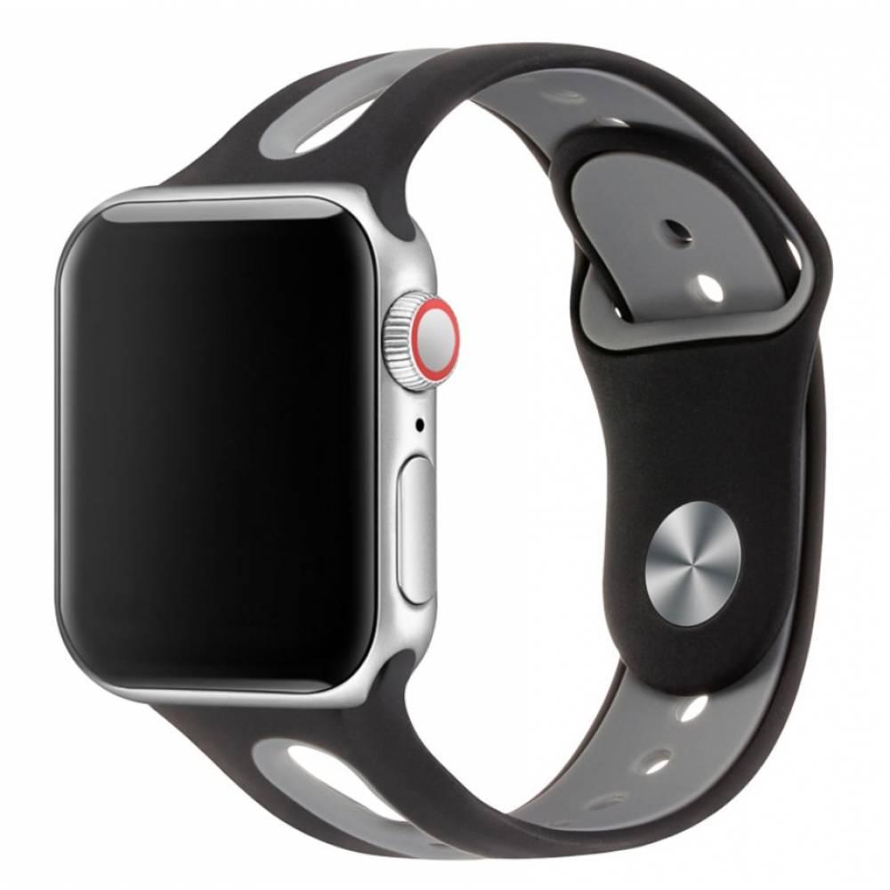 Ремешок для apple watch, серый 5907