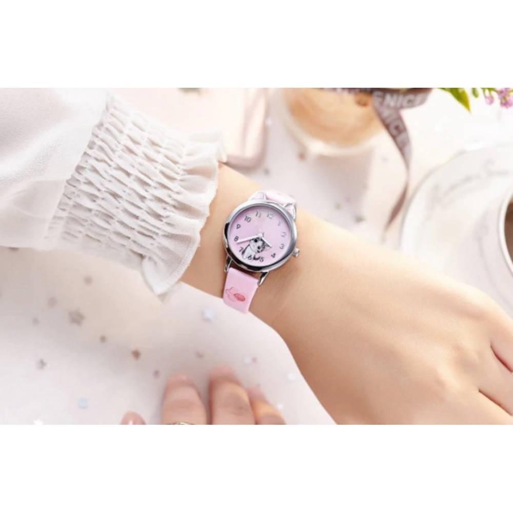 Детские Часы наручные JOYROX, розовые  6156