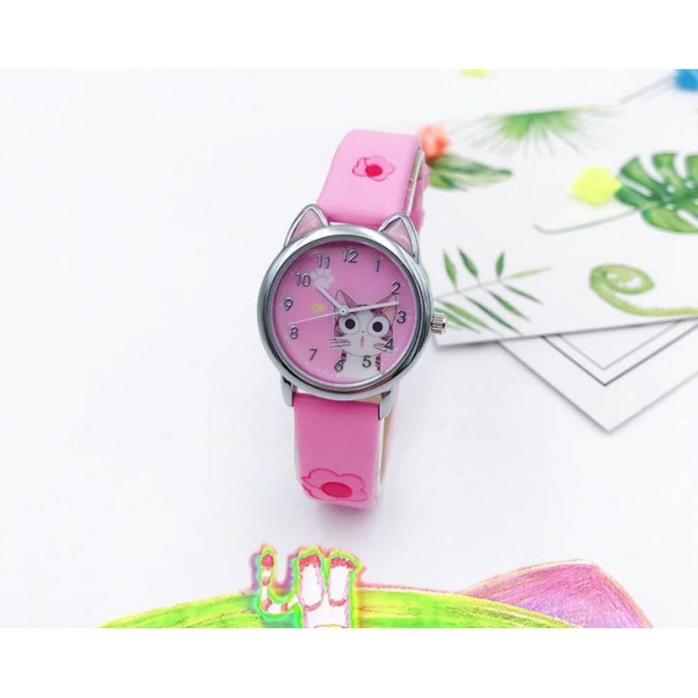Детские Часы наручные JOYROX, розовые  6159