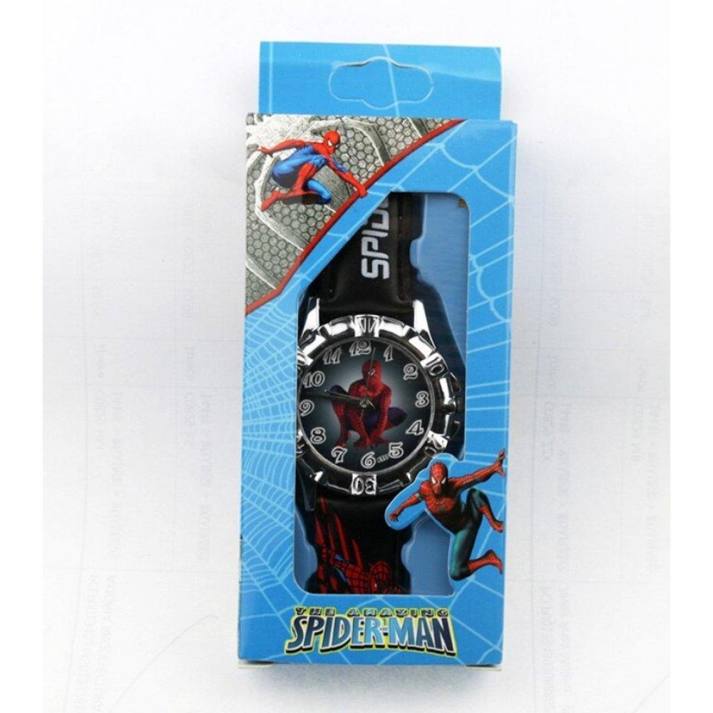 """Детские Часы наручные для мальчика """"Человек паук""""  6162"""