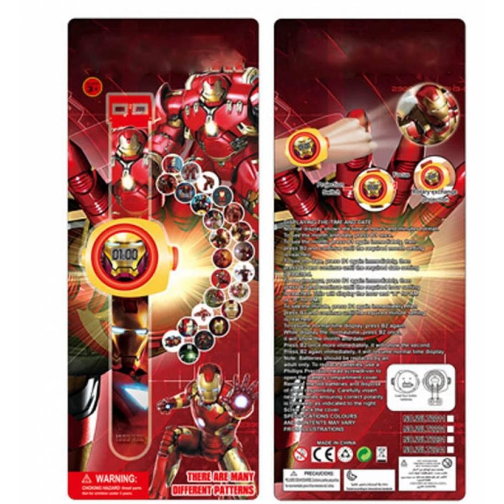 """Часы наручные детские """"Железный человек""""  6168"""