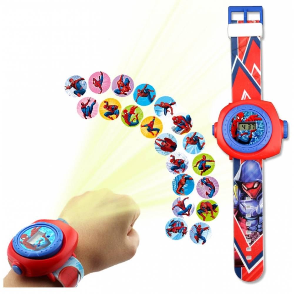 """Часы наручные детские  """"Человек паук""""  6171"""