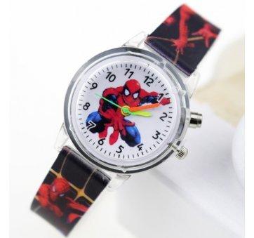 """Часы наручные детские """"Человек Паук"""" голубые 6175"""