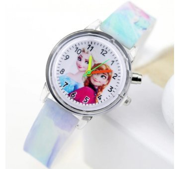 """Часы наручные детские """"Человек Паук"""" голубые 6178"""