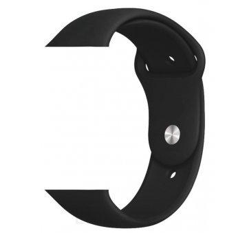 Ремешок на часы Apple watch, черный 6219