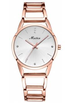 Часы женские MEIBIN, золотистые