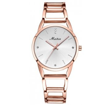 Часы наручные женские MEIBIN, золотистые 6327