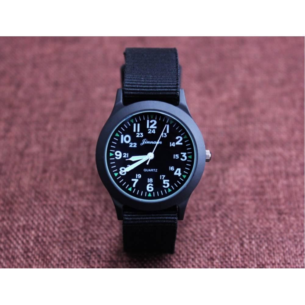 Детские Часы наручные JINNAIER, черные  6462