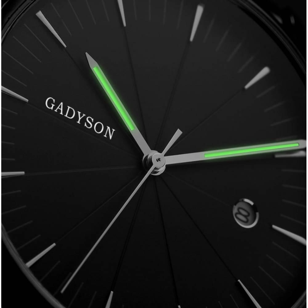 Часы наручные мужские GADYSON, черные 6672