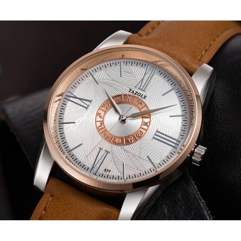 """Часы наручные для мужчин """"Yazole"""" 6730"""