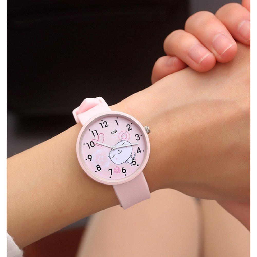 Женские Часы наручные JBRL, розовые 6740
