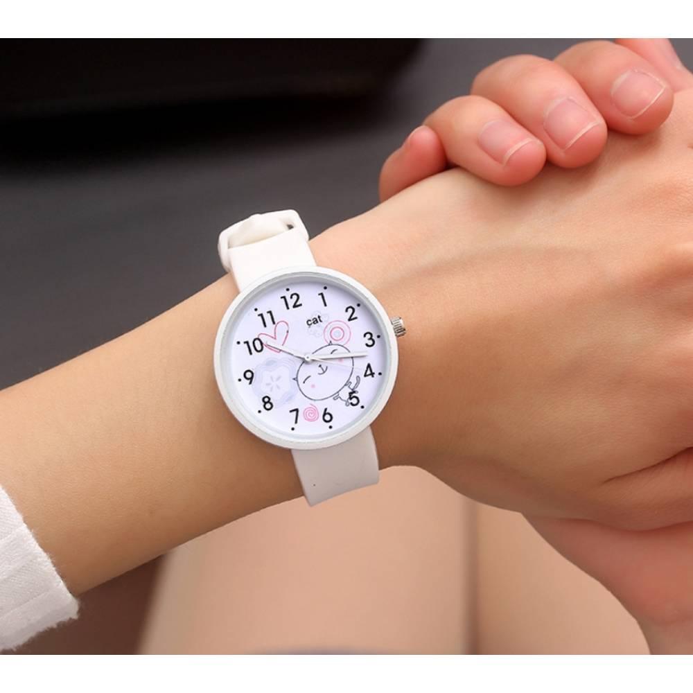 Женские Часы наручные JBRL, белые 6741