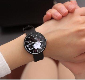 Женские Часы наручные JBRL, черные 6742