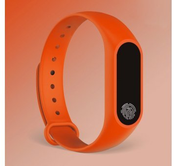 Умные часы Фитнес браслет JBRL, оранжевый 6749