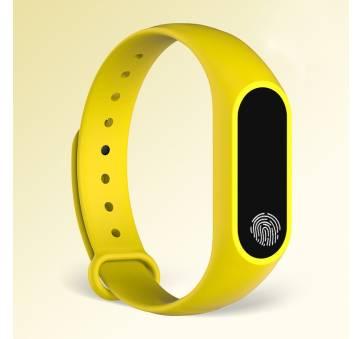 Умные часы Фитнес браслет JBRL, желтый 6754