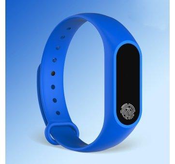 Умные часы Фитнес браслет JBRL, синий 6755