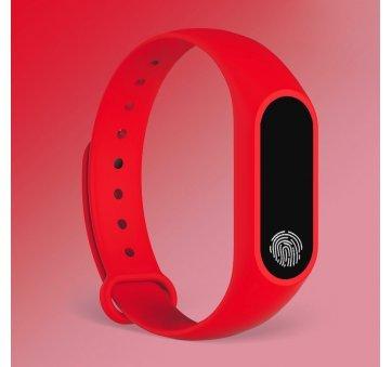 Умные часы Фитнес браслет JBRL, красный 6756