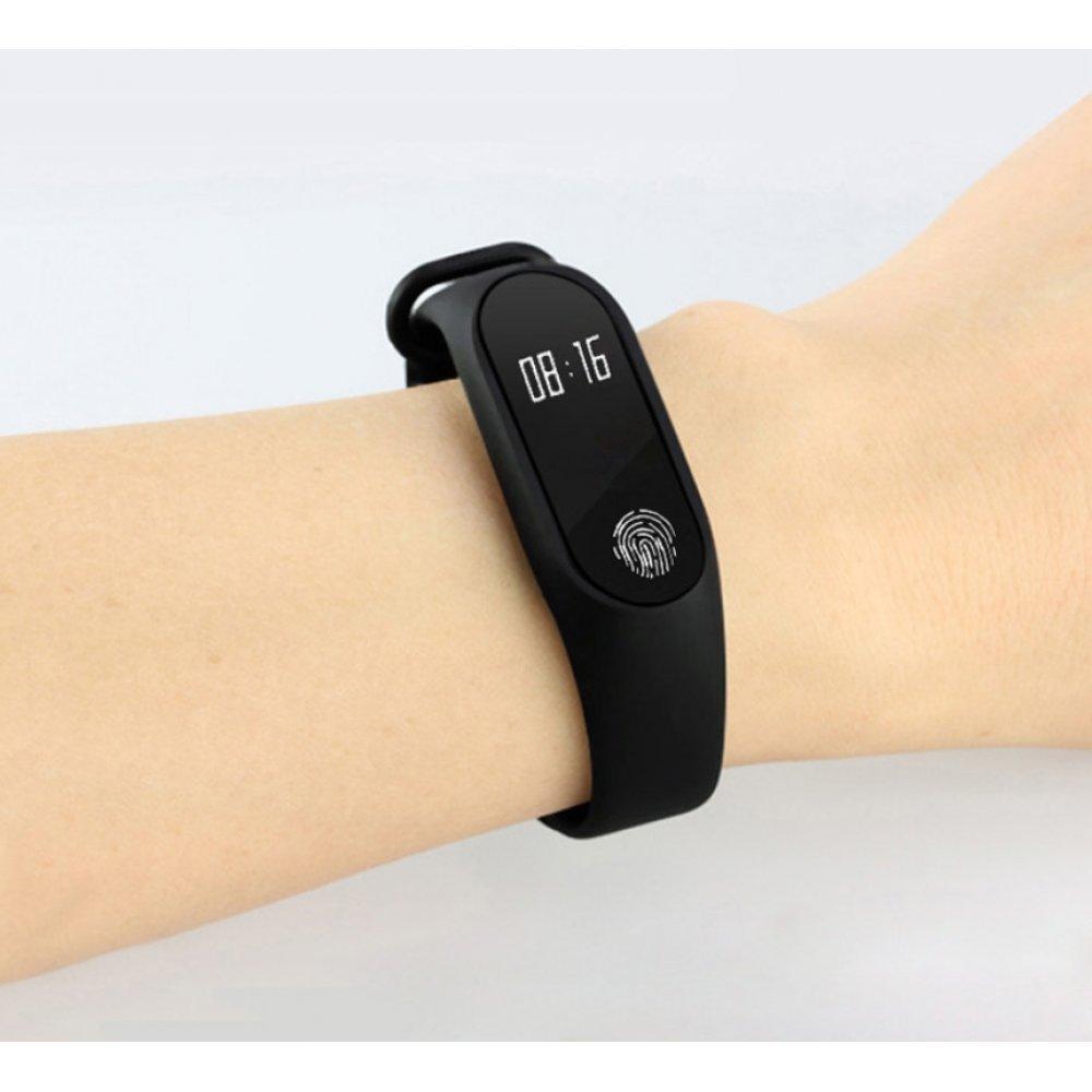Cмарт часы Фитнес браслет JBRL, красный 6756