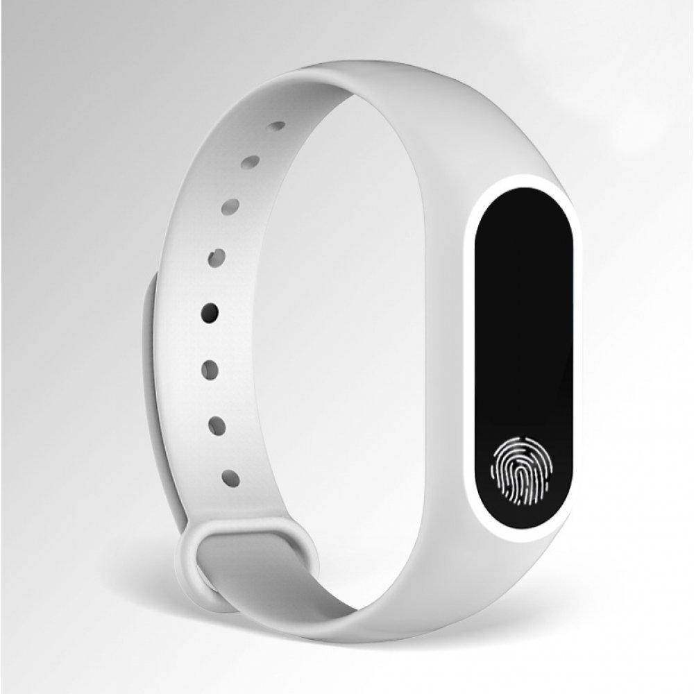 Cмарт часы Фитнес браслет JBRL, белый 6757