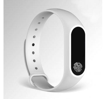 Умные часы Фитнес браслет JBRL, белый 6757