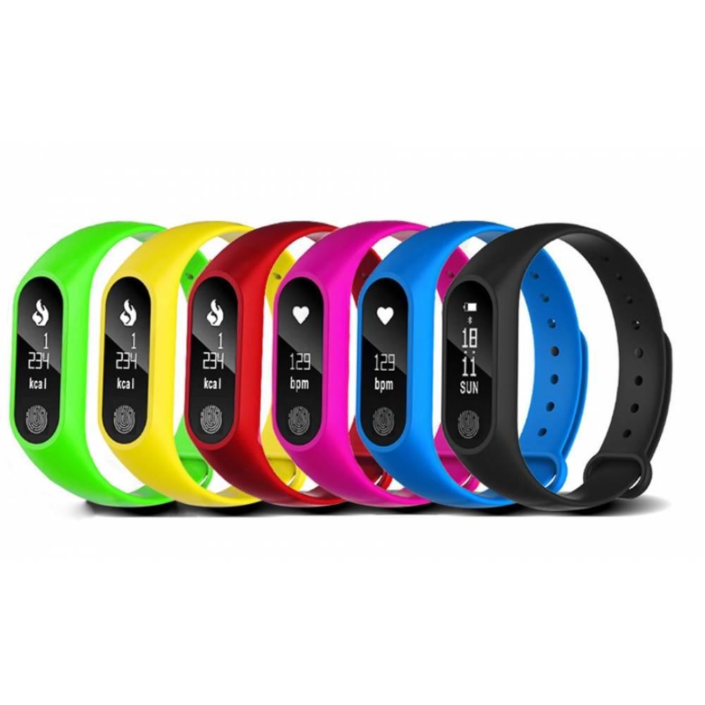 Cмарт часы Фитнес браслет JBRL, черный 6758