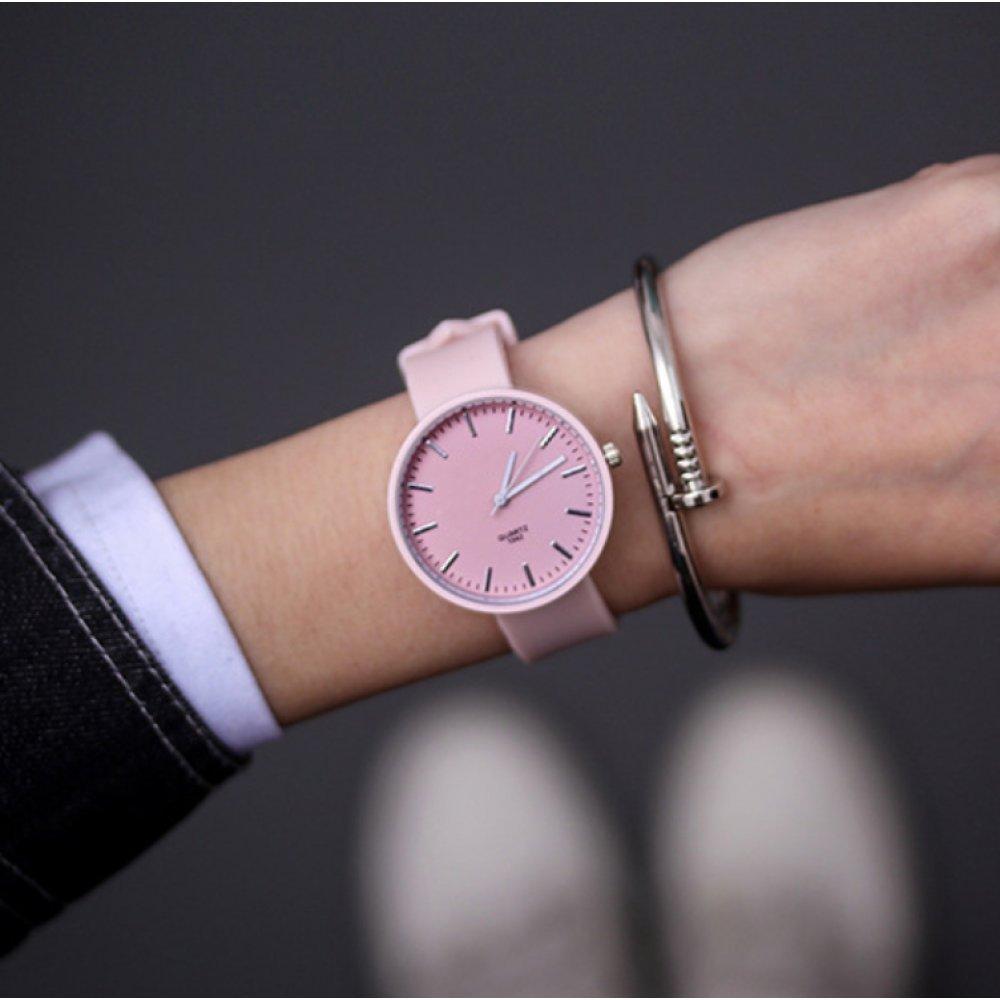 Женские Часы наручные JBRL, розовые 6765
