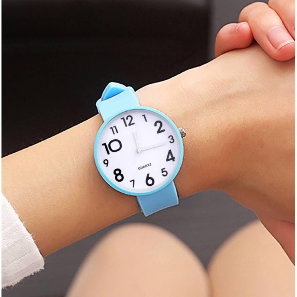 Женские Часы наручные JBRL, голубые 6768