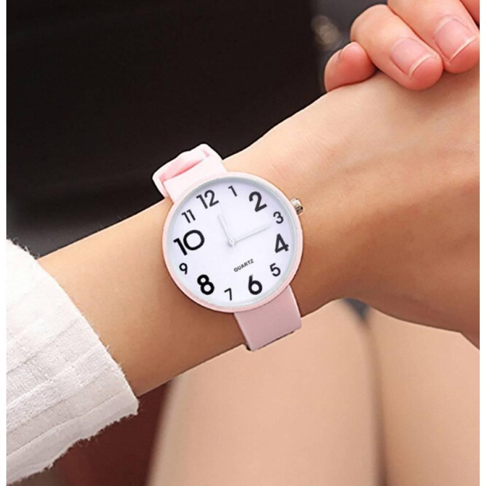 Женские Часы наручные JBRL, розовые 6770