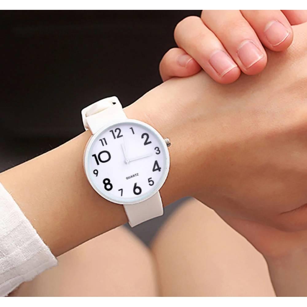 Женские Часы наручные JBRL, белые 6771