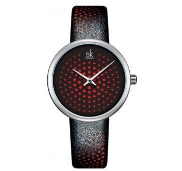 Женские Часы наручные SK, черные 6956