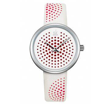 Женские Часы наручные SK, белые 6957