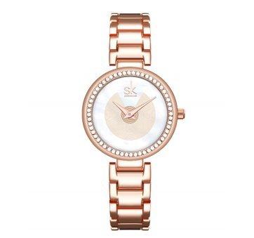 Женские Часы наручные SK, золотистые 6959