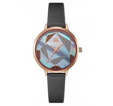 Женские Часы наручные SK, черные 6961