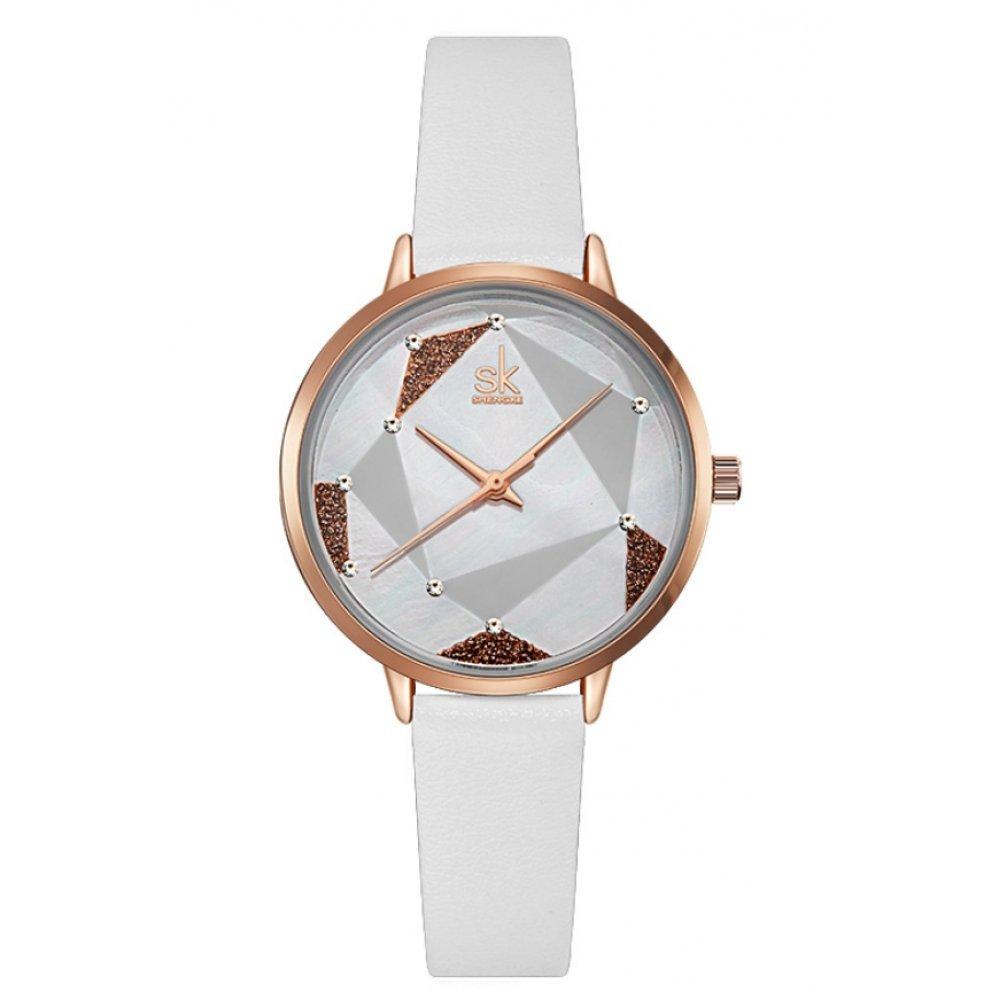 Женские Часы наручные SK, белые 6962