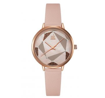 Женские Часы наручные SK, розовые 6963