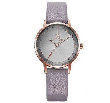 Женские Часы наручные SK, серые 6966
