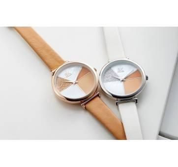 Женские Часы наручные SK, белые 6968