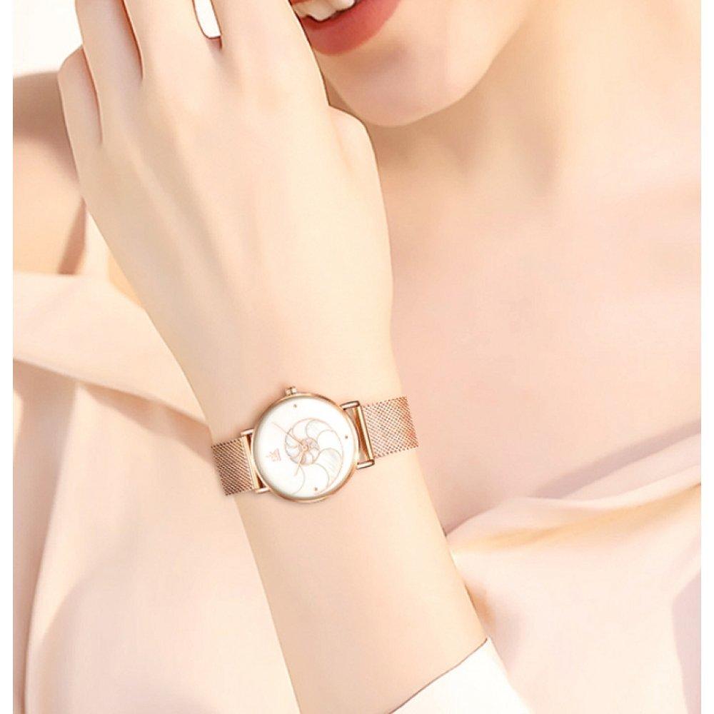 Женские Часы наручные SK, золотистые 6974