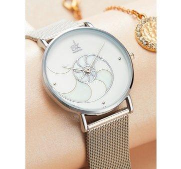 Женские Часы наручные SK, серебристые 6975