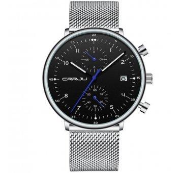 Мужские Часы наручные CRRJU, черные 6983